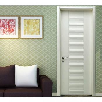 TATA木门 流行范儿 欧式条纹 造型门 实木复合免漆室内木门@006