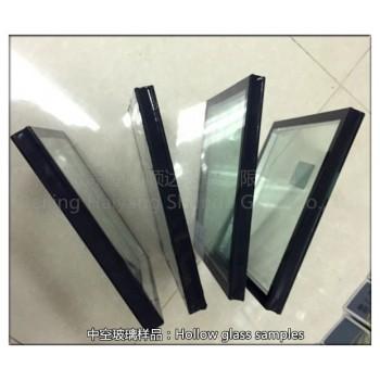 5白玻+9A聚硫胶+5白玻     中空玻璃